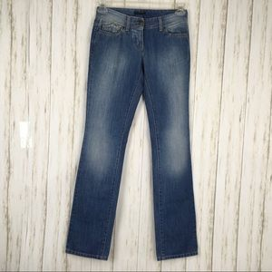 Sisley Regular Fit Button Fly Jeans